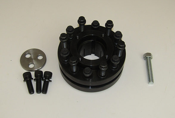 External Taperlock Crank Hub