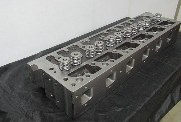 Recast Cylinder Head 1″ Taller, Inconnel Valve