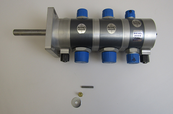 Aviaid Oil Pump 2 Sections Oil Standard Rotation