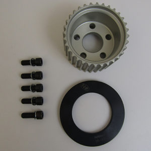 32 Tooth Pulley With Guide, Bolts, and Washers