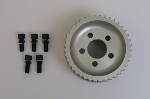 40 Tooth Pulley With Bolts, and Washers