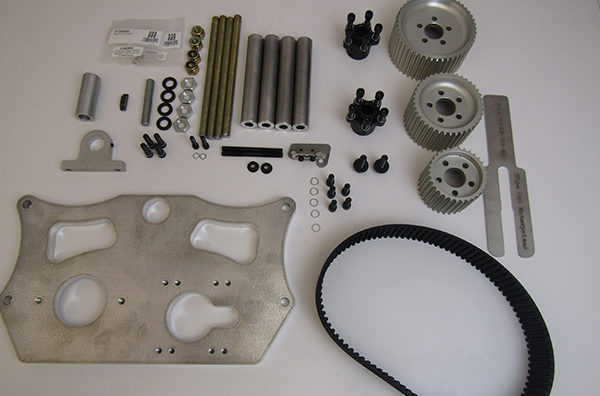 Belt Drive Oil And Water Assembly WITHOUT Crank Hub and Fluid Dampener