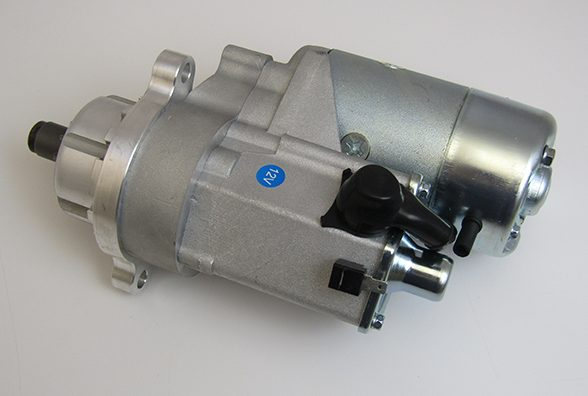 Gear Reduction Starter For Cupped Flywheel