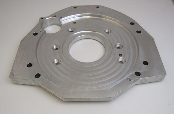 Rear Cover 1/2″ Thicker Billet Aluminum