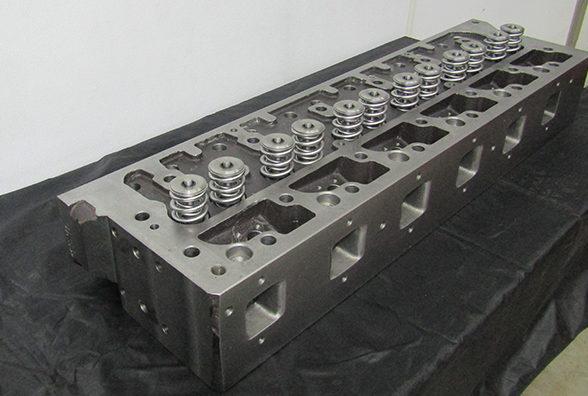 Recast Cylinder Head 1″ Taller, Titanium Valve