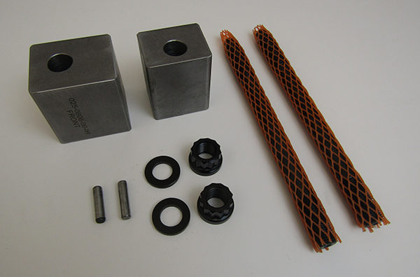 Welded Block Tie Down Assembly