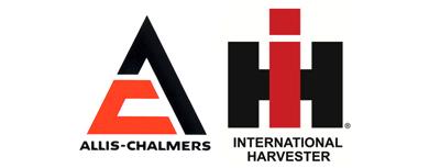 Allis Chalmers International Harvester Logos