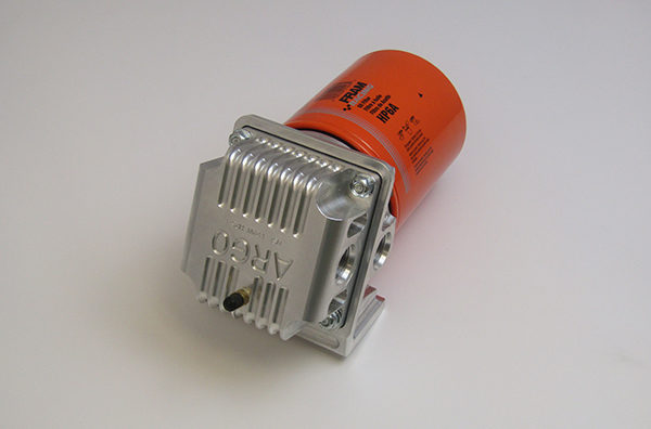 Oil Filter Housing with Inspection Screen
